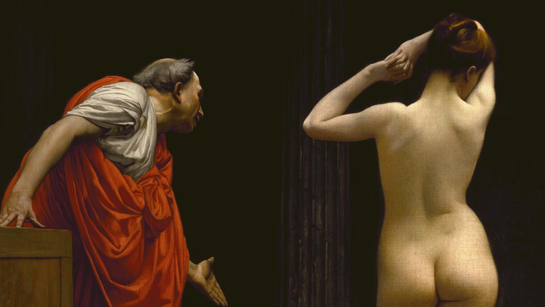 Gérôme, A Roman Slave Market, 1884