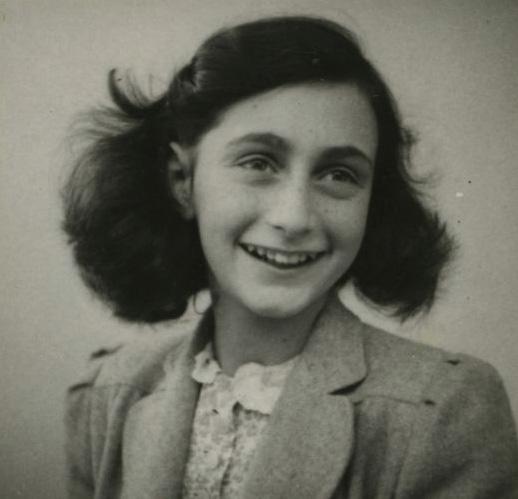 安妮.法蘭克(1929 – 1945)圖片截自 http://www.annefrank.org